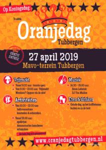 Poster Oranjedag Tubbergen 2019